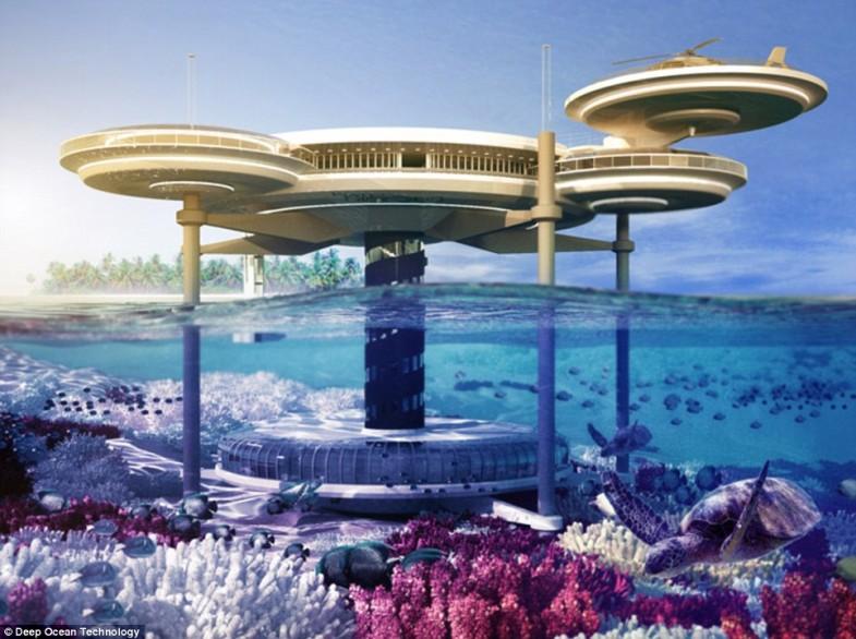 The Water Discus hotel - podvodni hotel u Dubaiju.