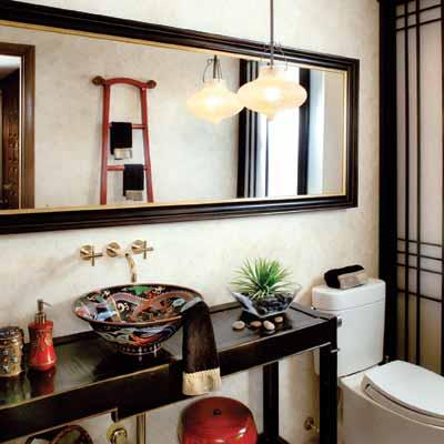 Detalji u kupatilu daće vašem kupatilu luksuznu notu.