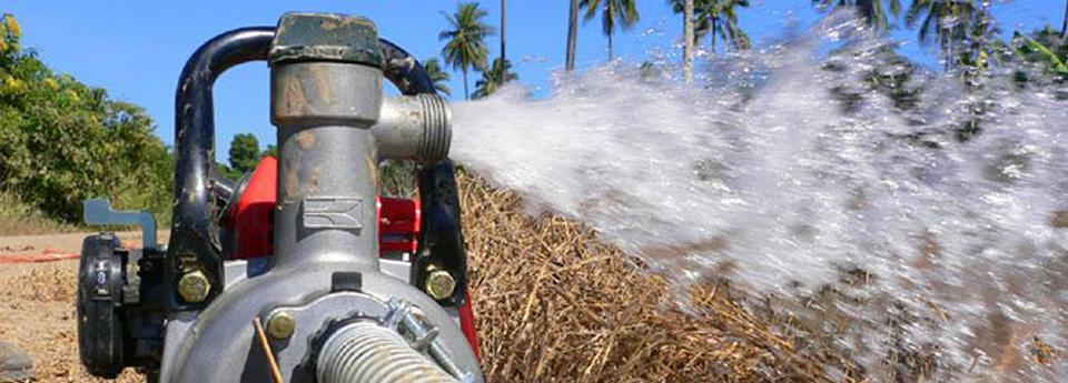 Potopna vodena pumpa.