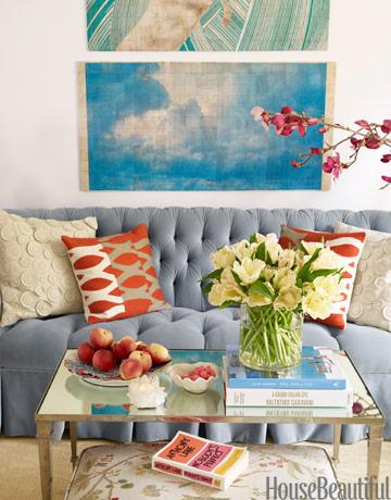 sofa i jastuci