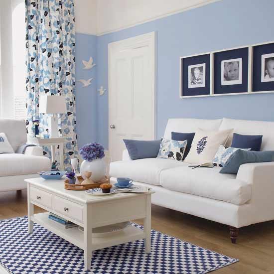 Svijetlo plava boja učiniće vašu sobu idealnom za odmor.