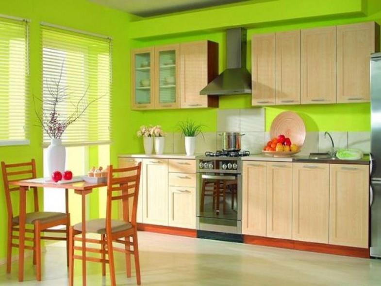 U kuhinji kombinujte smeđu sa zelenom.