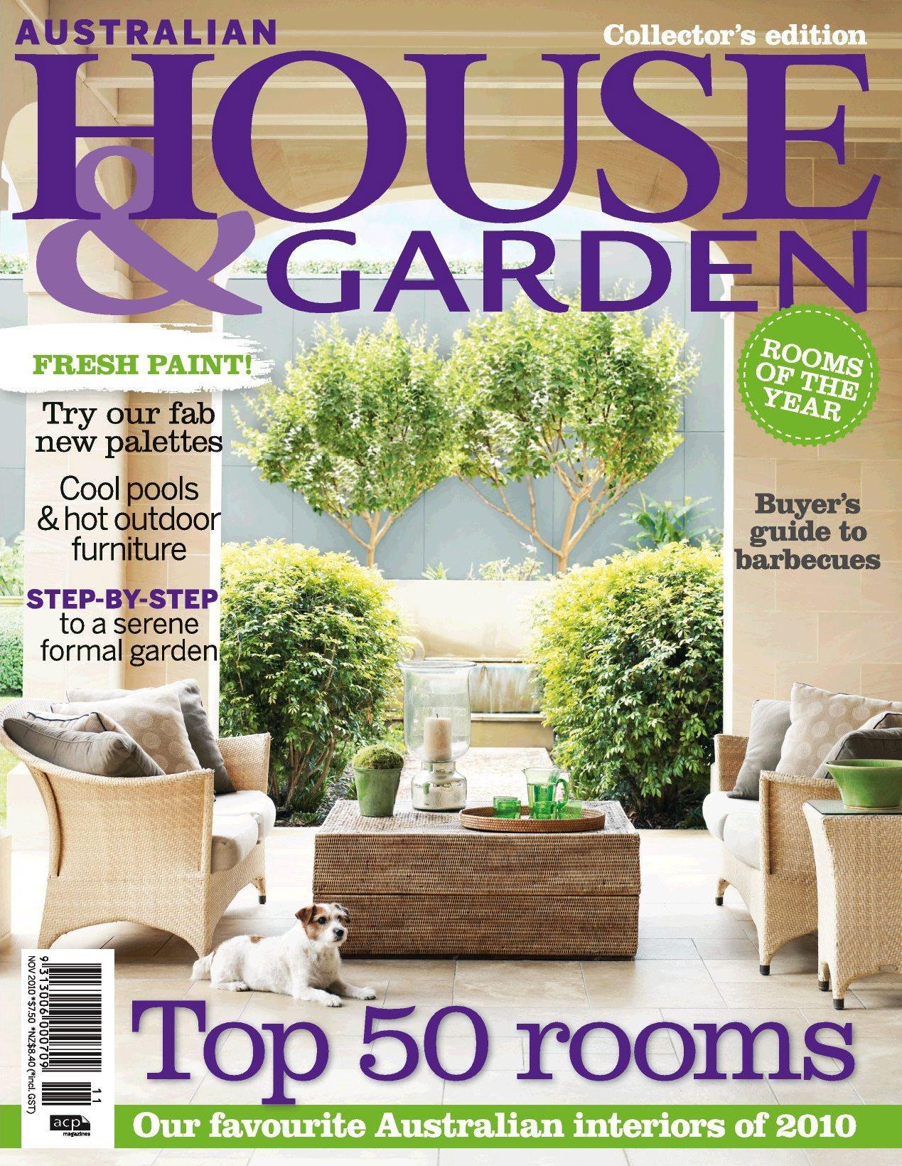 House and garden magazin