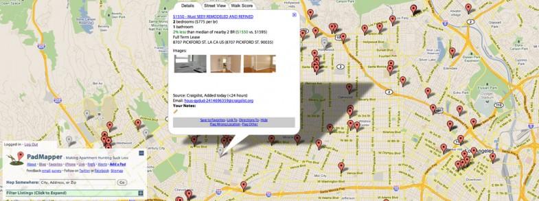 Internet potraga za stanom.