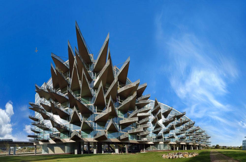 Zgrada kojoj je bitnija funkcionalnost nego estetika.