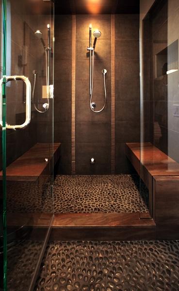 Tuš kabina u kombinaciji sa parnim kupatilom