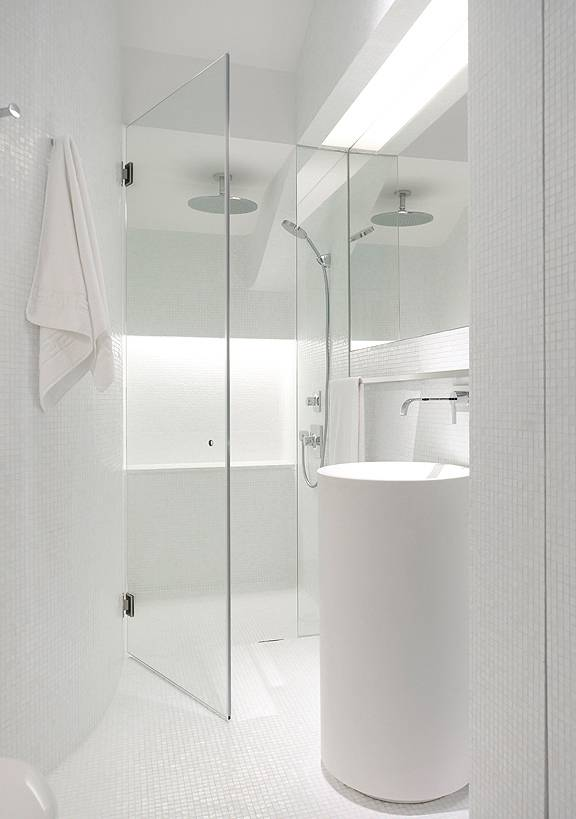Minimalistički stil kupatila  Uredite Dom