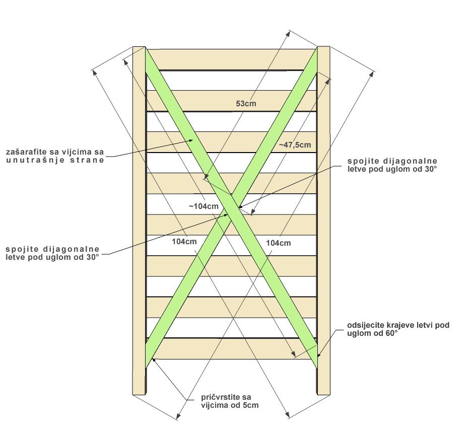 Napravite drveno skladište za voće  Uredite Dom