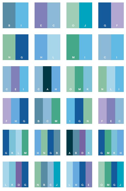 Osnovna pravila kod izbora boja za bojenje zidova for What colors match with navy blue