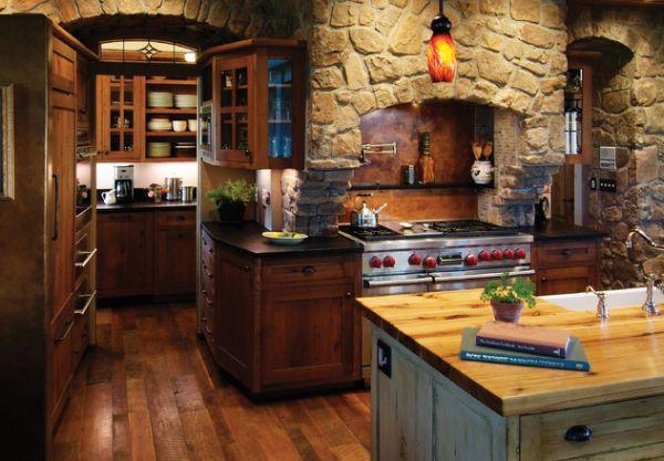 Dodajte rustični šarm vašoj kuhinji dekorativnim kamenim oblogama  Uredite Dom