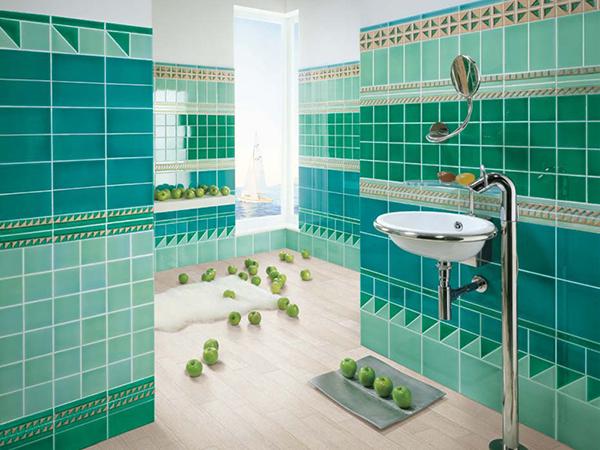 Zelene keramičke pločice