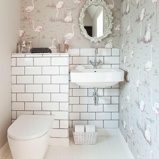 10 ideja za mala kupatila uredite dom for Wallpaper borders bathroom ideas