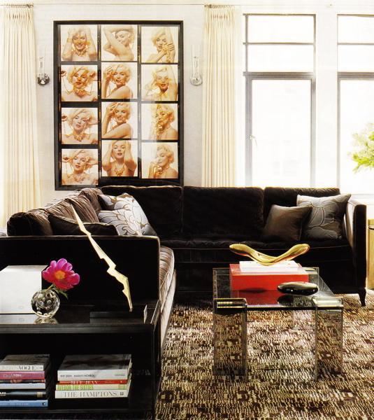 Kako dekorisati dnevni boravak sa smeđom sofom ili kaučem?  Uredite Dom