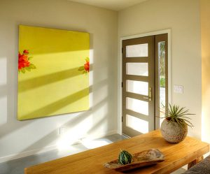 Za ljepši hodnik dovoljna je jedan slika u toplim bojama