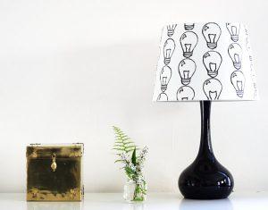 Osvježite abažur stare lampe.