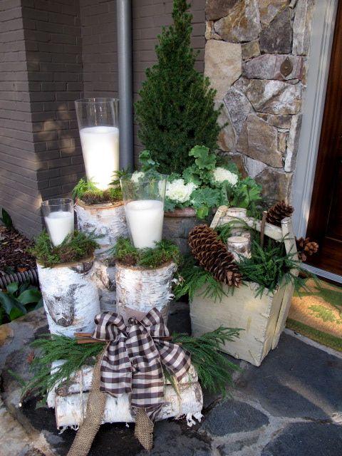 5 ideja kako urediti ulaz u stan u duhu praznika  Uredite Dom