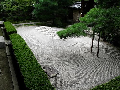 Živa ograda će stvoriti privatnost u vašem zen vrtu