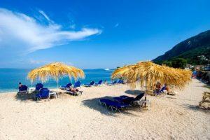 Benitses plaža