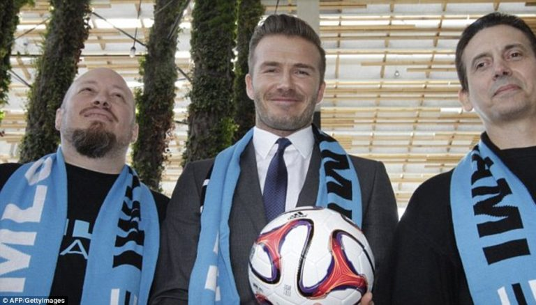 David Beckham sa bojama novog kluba u Majamiju